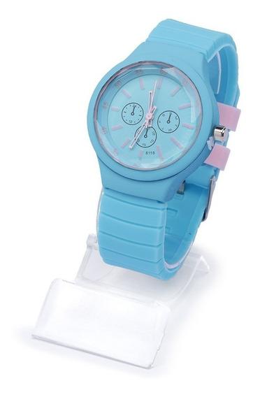 Kit 10 Relógios Feminino Silicone Atacado E Revenda + Caixa
