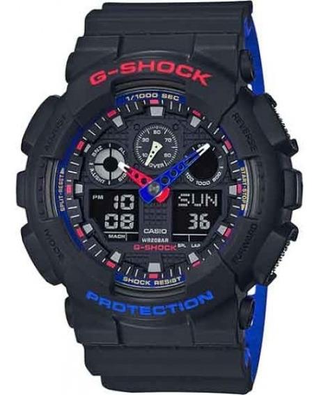 Relógio Casio Gshock Masculino Preto Ga-100lt-1adr