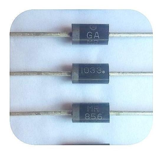 Mr826 Diodo 600v 3a Diodo Mr826 ( 10 Unidades)