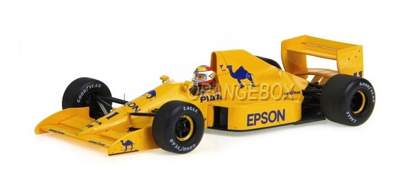 F1 Lotus 101 #11 Nelson Piquet British Gp 1989 1:18 Spark