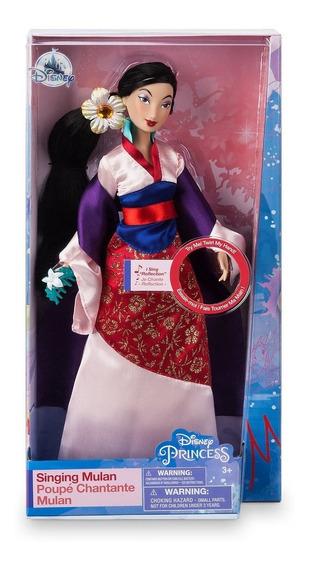 Boneca Mulan Musical Disney Store