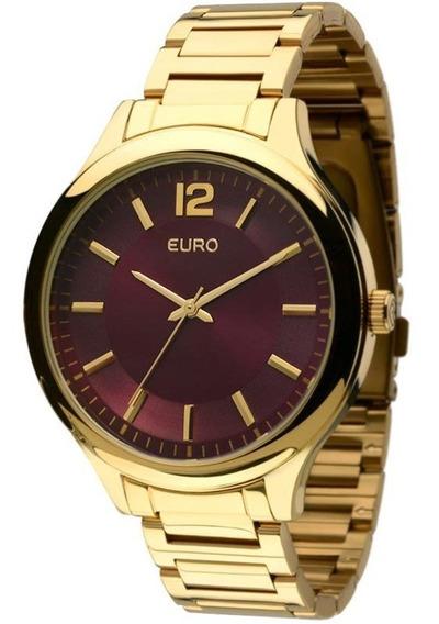 Relógio Euro Ref. Eu2035lqy - Dourado - Feminino Eu2035lqy