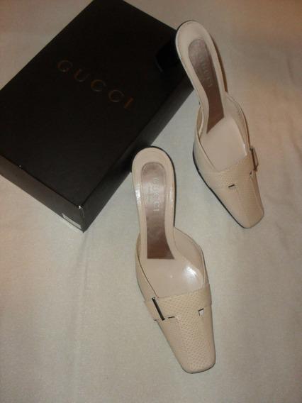 Zapatos Gucci Original Modelo Mules