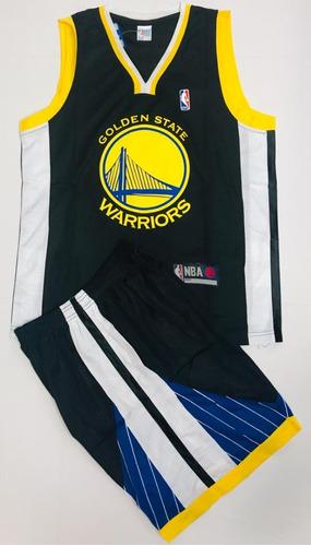 Uniforme Baloncesto Nba Golden State Warriors Niño