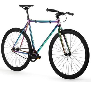 Fixie Oil Slick Golden Cycles