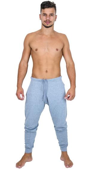 Calça Moletom Masculina Skinny Fitness Academia Atacado