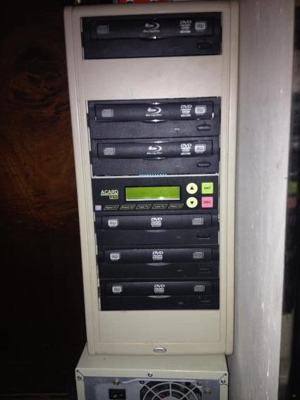 Torre Duplicadora De Dvd Como Nueva Muy Poco Uso