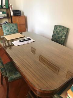 Mesa Sala De Reuniones Con 5 Sillas Estilo Ingles