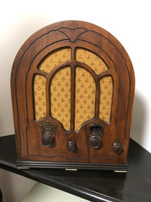 Radio Antigo Capela Rca Victor 1930s- Maravilhoso