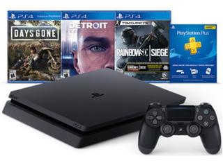 Consola Ps4 Play Station 4 Hits Bundle 5 Mas 3 Juegos Y Mas