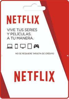 Tarjetas De Regalo Pin Virtual De Netflix - 1 Pantalla