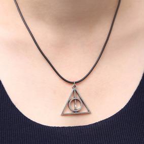 Colar Relíquias Da Morte Harry Potter