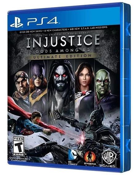 Injustice Gods Among Us - Ultimate Ed. - Ps4 - Mídia Física
