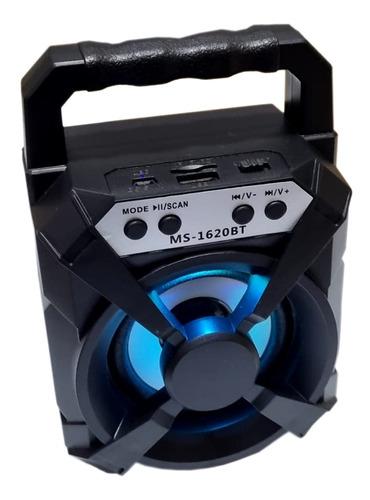 Caixinha De Som Portátil Bluetooth Fm Mp3 Cartão Sd Pendrive