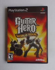 Guitar Hero World Tour Original Completo - Playstation 2 Ps2
