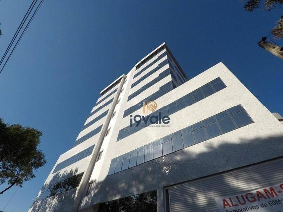 Sala Para Alugar, 72 M² Por R$ 2.552,00/mês - Jardim São Dimas - São José Dos Campos/sp - Sa0182