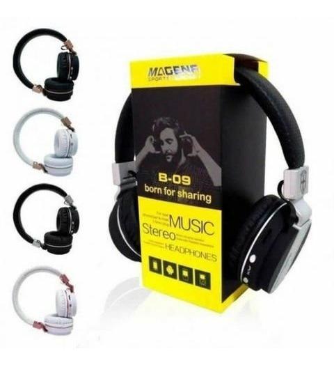 Kit 3 Fones Sem Fio Bluetooth Headset B09 Revenda Atacado