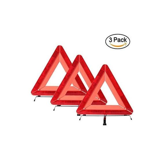 Triángulo De Advertencia De Seguridad De Emergencia Para Ref