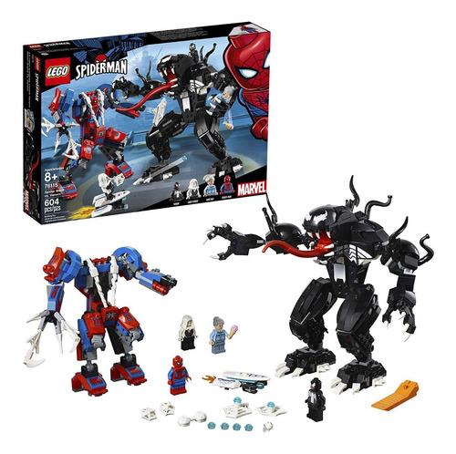 Lego Marvel Spider Mech Vs. Venom 76115 - Kit De Const 604 P