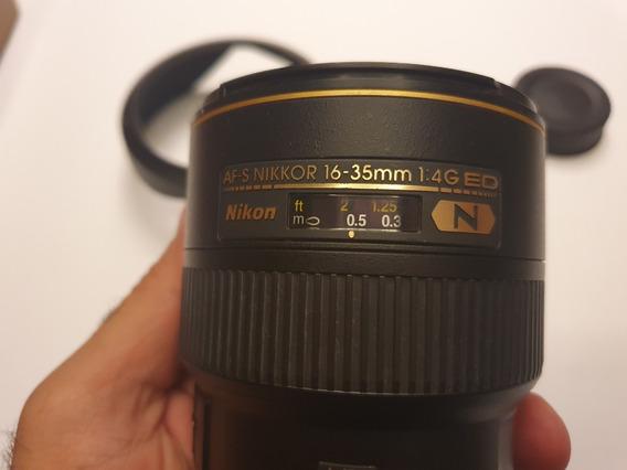 Lente Nikon Fx 16-35mm F/4g
