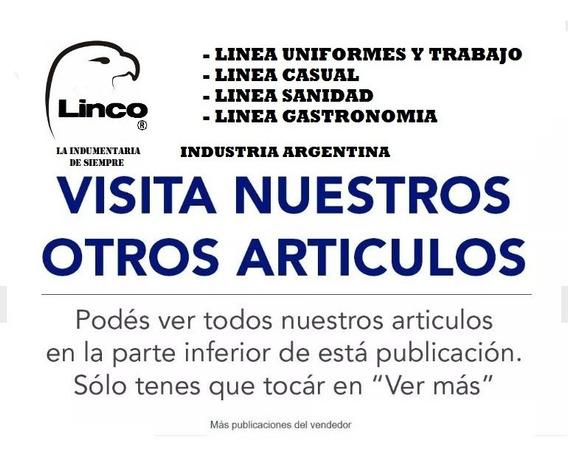 Pack 10 Pantalon Cargo Reforzado Linco Detalle En Descripcio