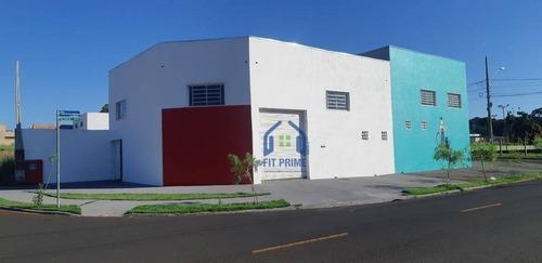 Salão, 150 M² - Venda Por R$ 320.000,00 Ou Aluguel Por R$ 2.200,00/mês - Loteamento Residencial Monterrey - São José Do Rio Preto/sp - Sl0233