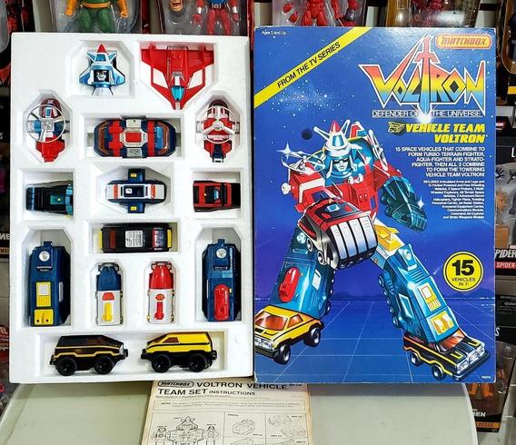 --- Culpatoys Voltron Vintage 1985 Vehiculos Matchbox ---