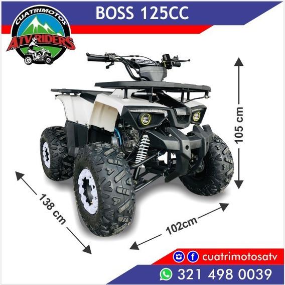 Cuatrimoto 125cc Boss Automático 2019 Nuevo