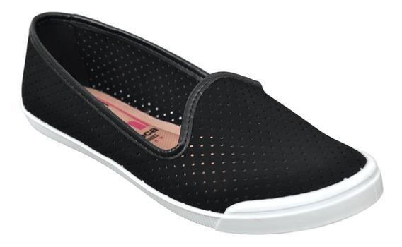 Zapatillas Pancha Mujer Urbana Moleca 712 Liviana Moda Soft