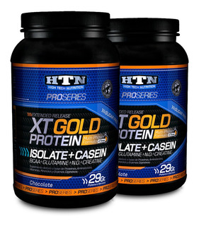 Xt Gold Protein 2kg Isolada + Caseina Promo X 2 Htn