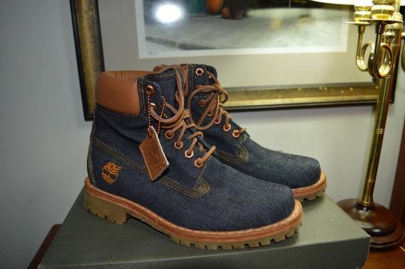 Bota Timberland Jeans Heritage 6inch Denim Boot 38 Raro