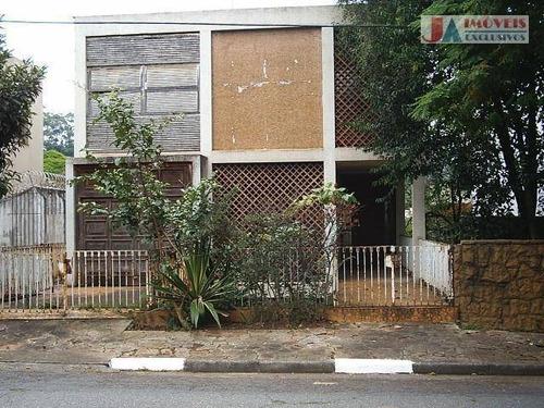 Casa À Venda, 420 M² Por R$ 2.000.000,00 - Pacaembu - São Paulo/sp - Ca1461
