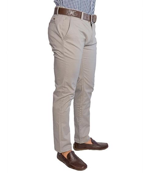 Pantalón Casual Hombre ((slim Fit) Varios Colores