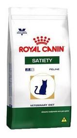 Ração Royal Canin Feline Veterinary Diet Satiety 1,5kg