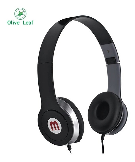 Fone De Ouvido Headphone Compatível Mp3 Celular E Notebook