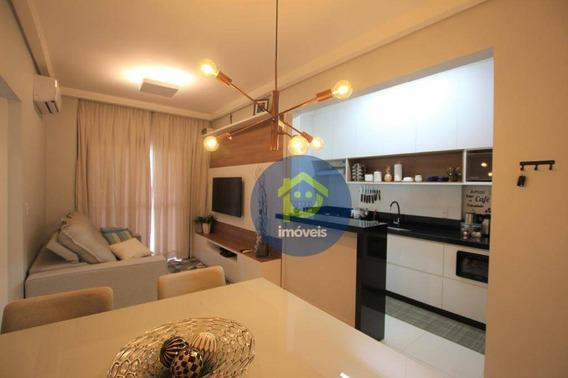 Apartamento À Venda Com 1 Dormitório - Higienópolis - Panerai Residence - 48 M² Por R$ 255.000 - São José Do Rio Preto/sp - Ap7371