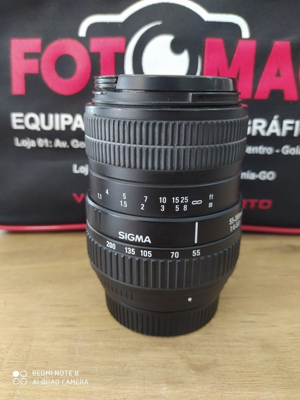 Lente Sigma 55-200mm Macro