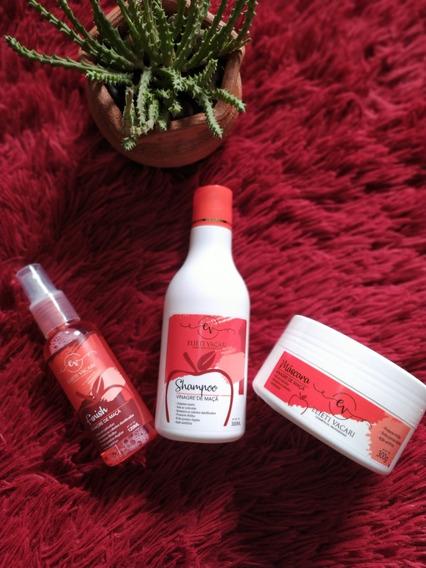5 Pós Progressiva Vinagre ( Shampoo, Máscara E Vinagre)