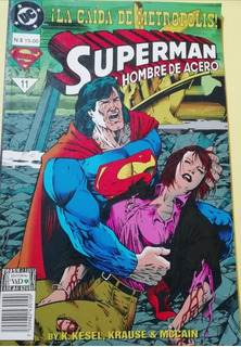 Superman El Hombre De Acero #11 + Póster
