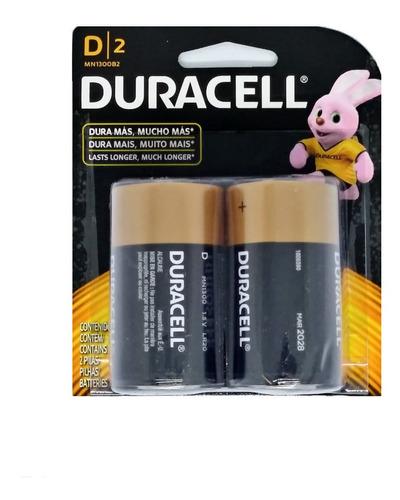Imagen 1 de 2 de Pilas Duracell D Caja X 12 Pilas