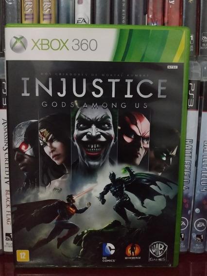 Injustice Xbox 360 Original | Parcelamento Sem Juros
