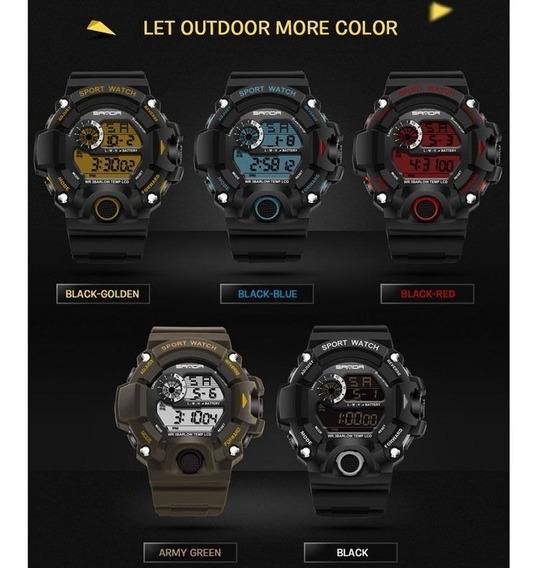 Relógio Militar Esportivo Sanda 326 A Prova D