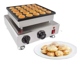 Mini Pancake Baker Maquina De 25 Mini Hotcakes Comercial