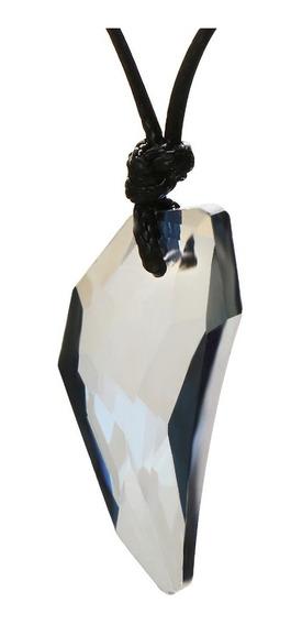 Collar Colgante Colmillo Lobo Amuleto Cristal Unisex