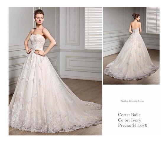 varios diseños varios estilos código promocional Vestido De Novia Color Ivory - Ropa, Bolsas y Calzado en ...