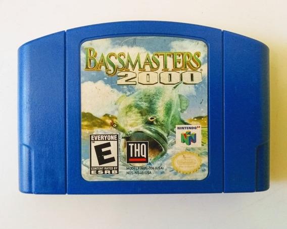 Bassmasters 2000(original) Nintendo 64 Raro !