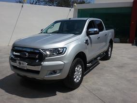 Ford Ranger 2.5 Xlt Cabina Doble 4x2 Mt 2018 Plata Metalico