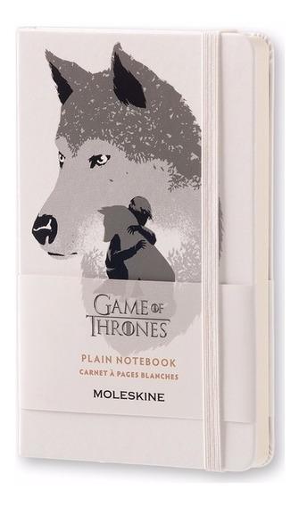 Caderno Moleskine De Bolso Sem Pauta Game Of Thrones 3083