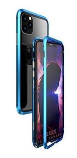 Fundas Metalicas Magneticas Con Vidrios iPhone 11 - 11 Pro