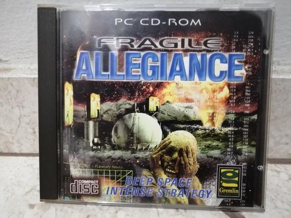 Fragile Allegiance Pc Cd Rom Europeu Original